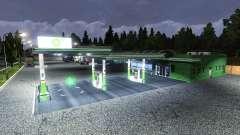 BP PETROL STATION for Euro Truck Simulator 2