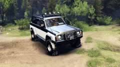 Nissan Patrol Y60 for Spin Tires