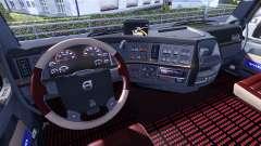 New interior for Volvo tagaca for Euro Truck Simulator 2
