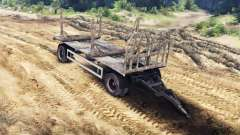 Trailer-timber MAN 19414 for Spin Tires
