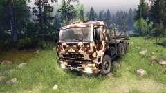 KamAZ-6520 camo v2 for Spin Tires