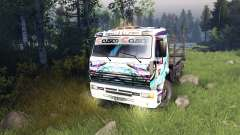 Color Hatsune Miku Racing for KAMAZ-6520 for Spin Tires