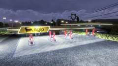 Petrol station Agip for Euro Truck Simulator 2