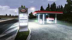 THE ESSO GAS STATION for Euro Truck Simulator 2