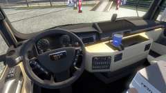 New interior for the MAN tagaca for Euro Truck Simulator 2