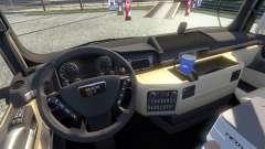 New interior for the MAN tagaca for Euro Truck Simulator 2