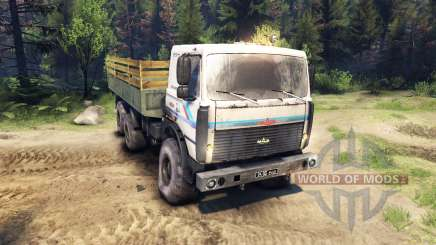 MAZ-6317 for Spin Tires
