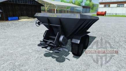Fertilizer spreader APF-8B for Farming Simulator 2013