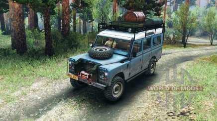 Land Rover Defender Series III v2.2 Blue for Spin Tires