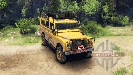 Land Rover Defender Series III v2.2 Camel Trophy for Spin Tires