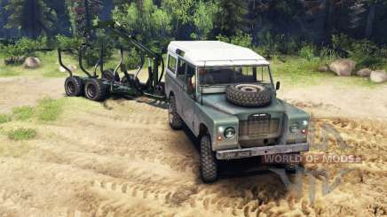 Land Rover Defender Series III v2.2 Cyan for Spin Tires