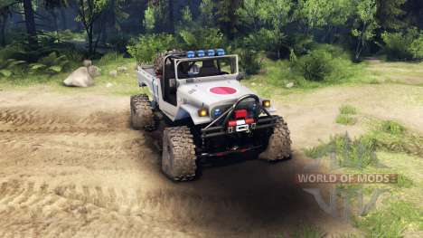 Toyota FJ40 Zero for Spin Tires
