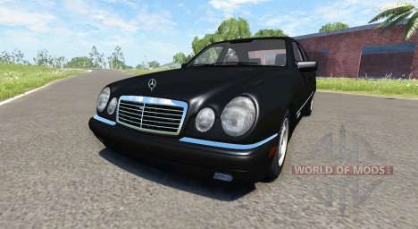 Mercedes-Benz E420 W124 stock for BeamNG Drive