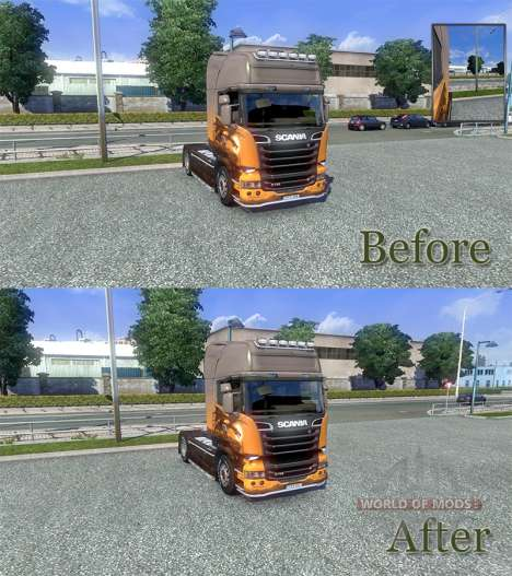 Modified physics [Final version] for Euro Truck Simulator 2