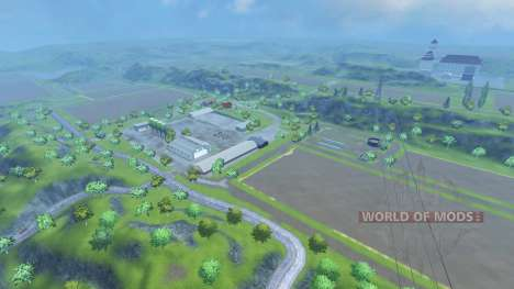Drebbermap for Farming Simulator 2013