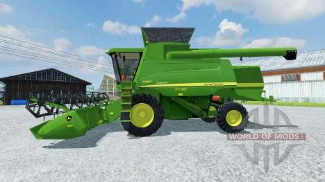 John Deere 660i v2.0 for Farming Simulator 2013