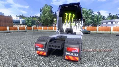 Color-Monster Energy - truck MAN for Euro Truck Simulator 2