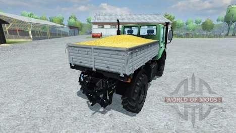 Mercedes-Benz Unimog 1450 for Farming Simulator 2013