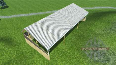 Posted pavilions for Farming Simulator 2013