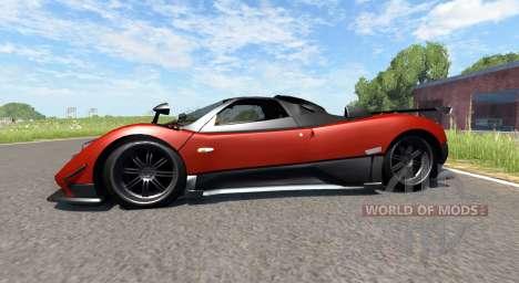 Pagani Zonda Cinque Roadster 2009 for BeamNG Drive