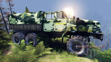 Ural-4320-41 camo for Spin Tires