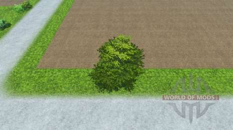 Hosted trees for Farming Simulator 2013