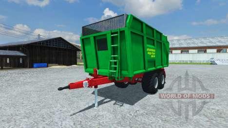 Прицеп Strautmann Mega-Trans SMK 14-40 for Farming Simulator 2013