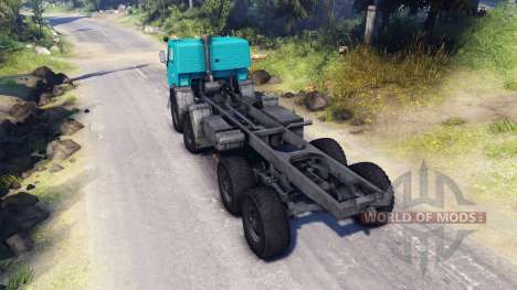 KamAZ-6350 for Spin Tires