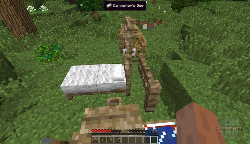скачать мод на блоки плотника для minecraft 1.7.10