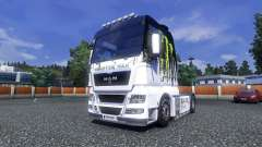 Color-Monster Energy - truck MAN for Euro Truck Simulator 2
