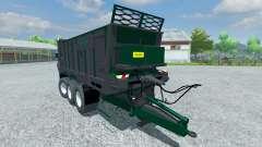 Trailer Tebbe HS 320 for Farming Simulator 2013