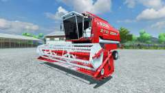 Bizon Z 110 red for Farming Simulator 2013