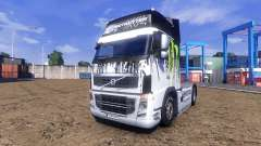 Color-Monster Energy - truck Volvo for Euro Truck Simulator 2