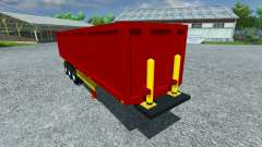 The semi-trailer Schmitz SKI 50 for Farming Simulator 2013
