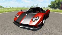 Pagani Zonda Cinque Roadster 2009 for BeamNG Drive