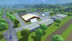 Sample Mod Map for Farming Simulator 2013