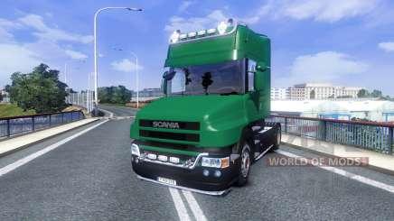 Scania T500 Mark 2 black parts for Euro Truck Simulator 2