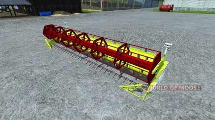 Reaper Claas Vario 750 for Farming Simulator 2013