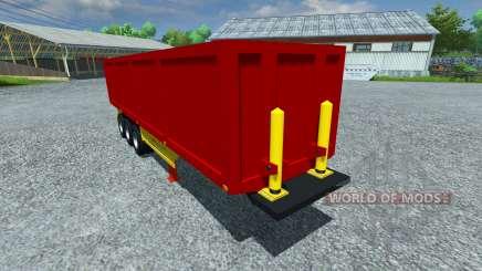The semi-trailer Schmitz SKI 50 for Farming Simulator 2013