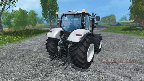 New Holland T6.160 increased tires for Farming Simulator 2015