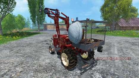 Hoftraktor HT13E FL dirt for Farming Simulator 2015