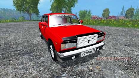 VAZ-2107 for Farming Simulator 2015