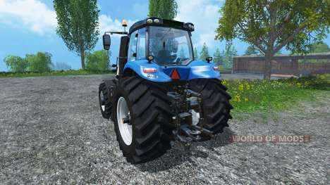 New Holland T8.390 Ultra White 2011 v2.0 for Farming Simulator 2015