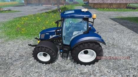 New Holland T6.160 Blue Power v1.1 for Farming Simulator 2015
