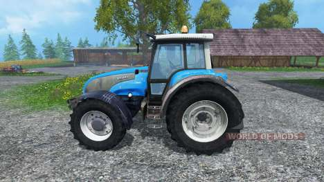 Valtra T140 Blue for Farming Simulator 2015
