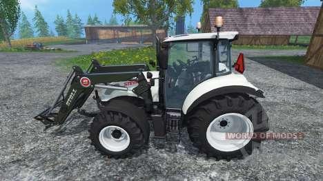 Steyr Multi 4115 Ecotronik v2.0 Universal for Farming Simulator 2015