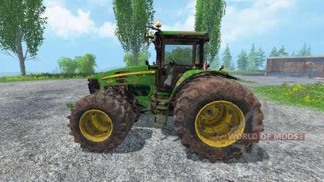 John Deere 7930 FL v2.0 dirt for Farming Simulator 2015