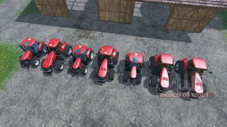 The sounds of engines of tractors Case IH Magnum for Farming Simulator 2015