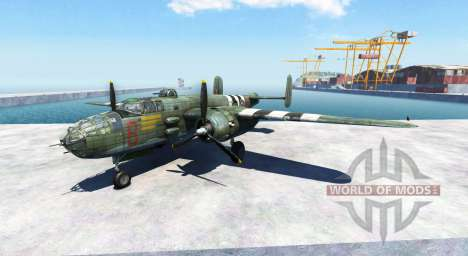 North American B-25 Mitchell for BeamNG Drive