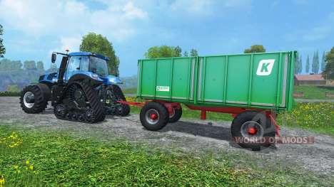 Case Trailer Attacher v3.0 for Farming Simulator 2015